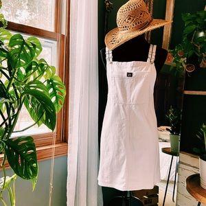 ••White Demin Dress